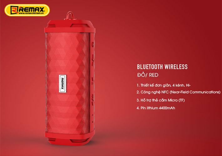 Loa Bluetooth chống nước Remax RB-M12 11