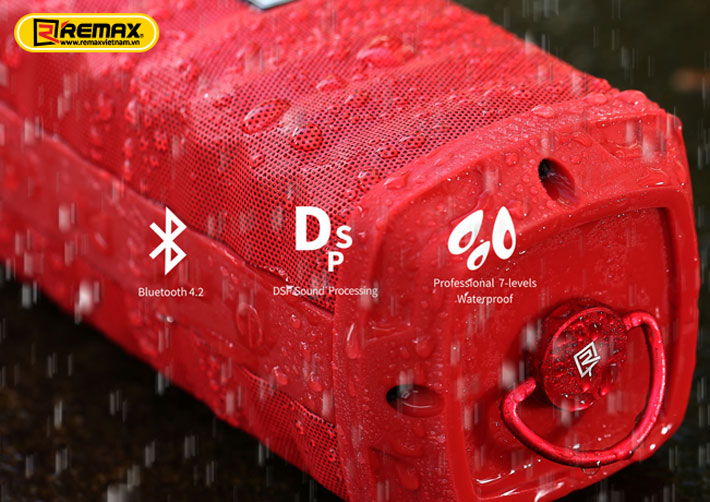 Loa Bluetooth chống nước Remax RB-M12 3