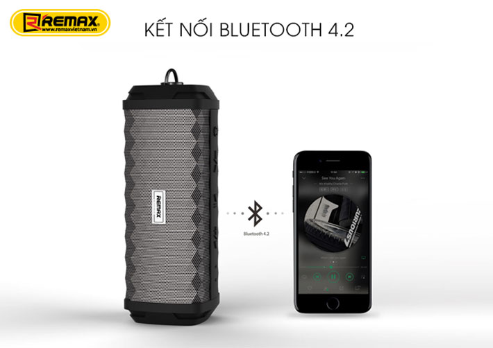 Loa Bluetooth chống nước Remax RB-M12 5